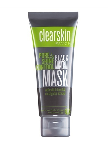 Avon Clearskin Pore & Shine Mineral İçeren Siyah Maske 75 Ml Renksiz